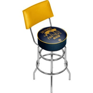 VAF Detroit Panthers Padded Swivel Bar Stool with Back
