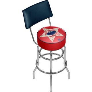 VAF Hollywood Rangers Padded Swivel Bar Stool with Back