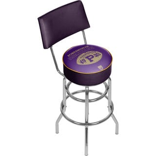 VAF Portsmouth Spartans Padded Swivel Bar Stool with Back
