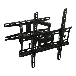 Mount-It! MI-4461 32 to 50-inch Full-motion Articulating Dual Arm TV Wall Mount with Corner Bracket