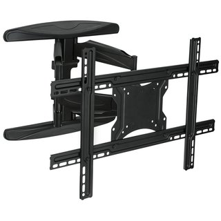 Mount-It! MI-344 Articulating Full Motion, Black TV Wall Mount for 32 -60-inch LCD/ LED/ Plasma Screens with VESA 600x400mm