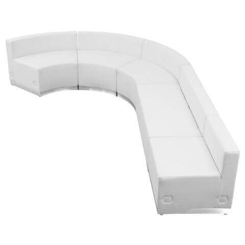 Hercules Alon Series Leather Reception 5-piece Configuration