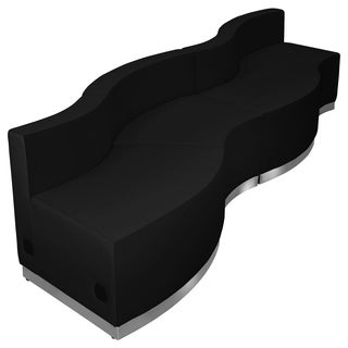 Hercules Alon Series Leather 4-piece Reception Configuration