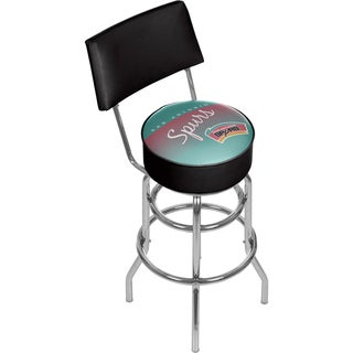 San Antonio Spurs Hardwood Classics Bar Stool with Back