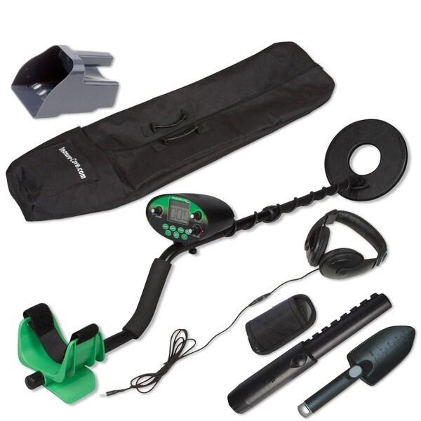 Treasure Cove TC-9800 Fast Action Digital Pro Metal Detector With Bonus Handheld Pinpointer