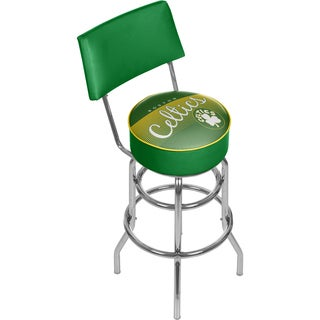 Boston Celtics NBA Hardwood Classics Bar Stool with Back