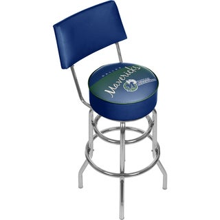 Dallas Mavericks NBA Hardwood Classics Bar Stool with Back