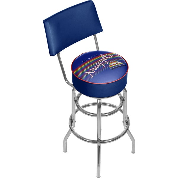 Denver Nuggets NBA Hardwood Classics Bar Stool with Back