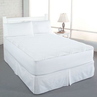 Rest Remedy Clean & Fresh Cotton Double Diamond Mattress Pad