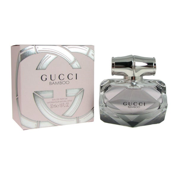 1391a8706 Shop Gucci Bamboo Women's 1.6-ounce Eau de Parfum Spray - Free Shipping  Today - Overstock - 10648334