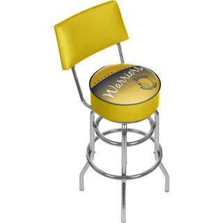 Golden State Warriors NBA Hardwood Classics Bar Stool with Back