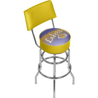 Los Angeles Lakers NBA Hardwood Classics Bar Stool with Back