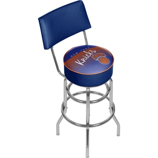 New York Knicks NBA Hardwood Classics Bar Stool with Back