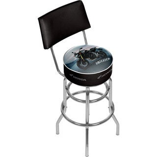 Honda CB1000R Padded Swivel Bar Stool with Back