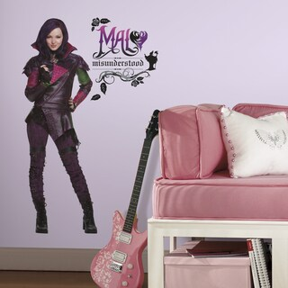 RoomMates Descendants Mal Giant Wall Decals