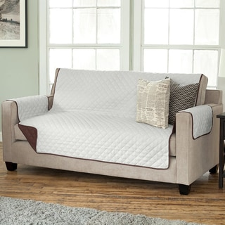 "Luxury Reversible Sofa Furniture Protector/Cover (75""x110"")"