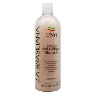 La-Brasiliana Uno Keratin and Collagen 33.8-ounce Shampoo