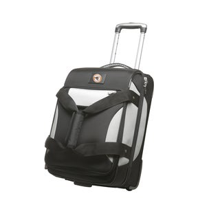 Denco Sports Cooperstown MLB Baltimore Orioles 22-inch Carry On Drop Bottom Upright Duffel Bag