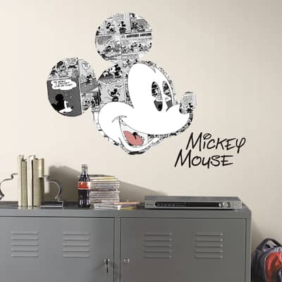 RoomMates Mickey Mouse Comic Wall Graphic Decal