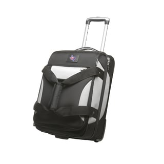 Denco Sports Cooperstown MLB Texas Rangers 22-inch Carry On Drop Bottom Upright Duffel Bag