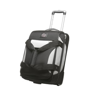Denco Sports Cooperstown MLB San Diego Padres 22-inch Carry On Drop Bottom Upright Duffel Bag
