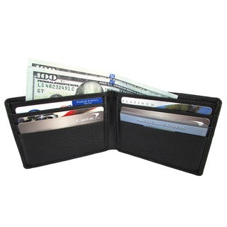 Men's Continental Leather Bifold Wallet