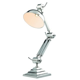 Elegant Lighting Vintage Task Collection TL1257 Table Lamp with Chrome Finish