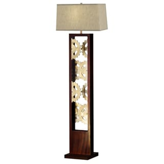 Nova Lighting Gears Bronze Floor Lamp