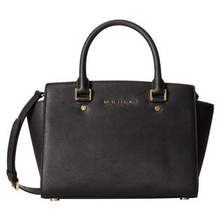 Michael Kors Selma Medium Top Zip Satchel Handbag