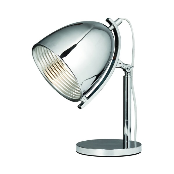 Elegant Lighting Industrial Collection TL1246 Table Lamp with Chrome Finish