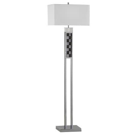 Nova Lighting Textura Brushed Nickel Floor Lamp