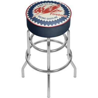 Pure Oil Chrome Bar Stool with Swivel