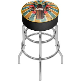 Coca Cola Brazil Pub Stool (Option: Coca Cola Color Splash Stool)
