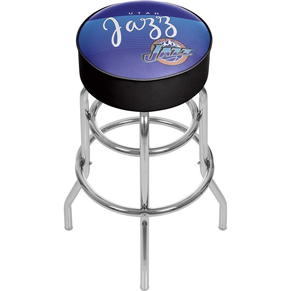 Utah Jazz NBA Hardwood Classics Bar Stool