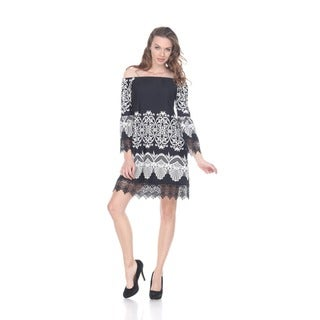 White Mark Women's 'Alta' Dress