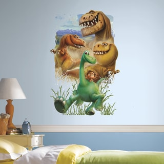 RoomMates The Good Dinosaur Gang Peel and Stick Giant Wall Decals