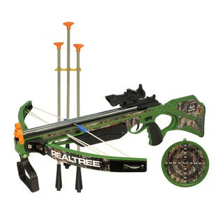 """RealTree Child Play 26"""" Compound Crossbow set with LED scope"""
