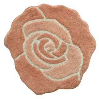 Jessica Simpson Bloom Shaped Bath rug 26x28. (3 options available)