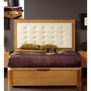 Luca Home Queen Platform Storage Bed