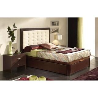 Luca Home Full Platform Storage Bed