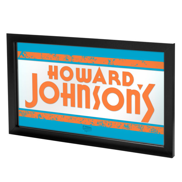 Howard Johnson Framed Logo Mirror