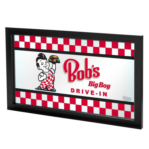 Bobs Big Boy Framed Logo Mirror
