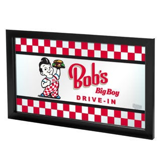 Bobs Big Boy Framed Logo Mirror