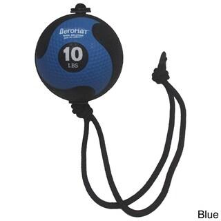 AeroMat Elite Power Rope Medicine Ball (Option: 10 pound, Blue)
