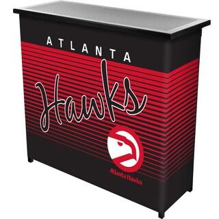 Atlanta Hawks Hardwood Classics NBA Portable Bar w/ Case
