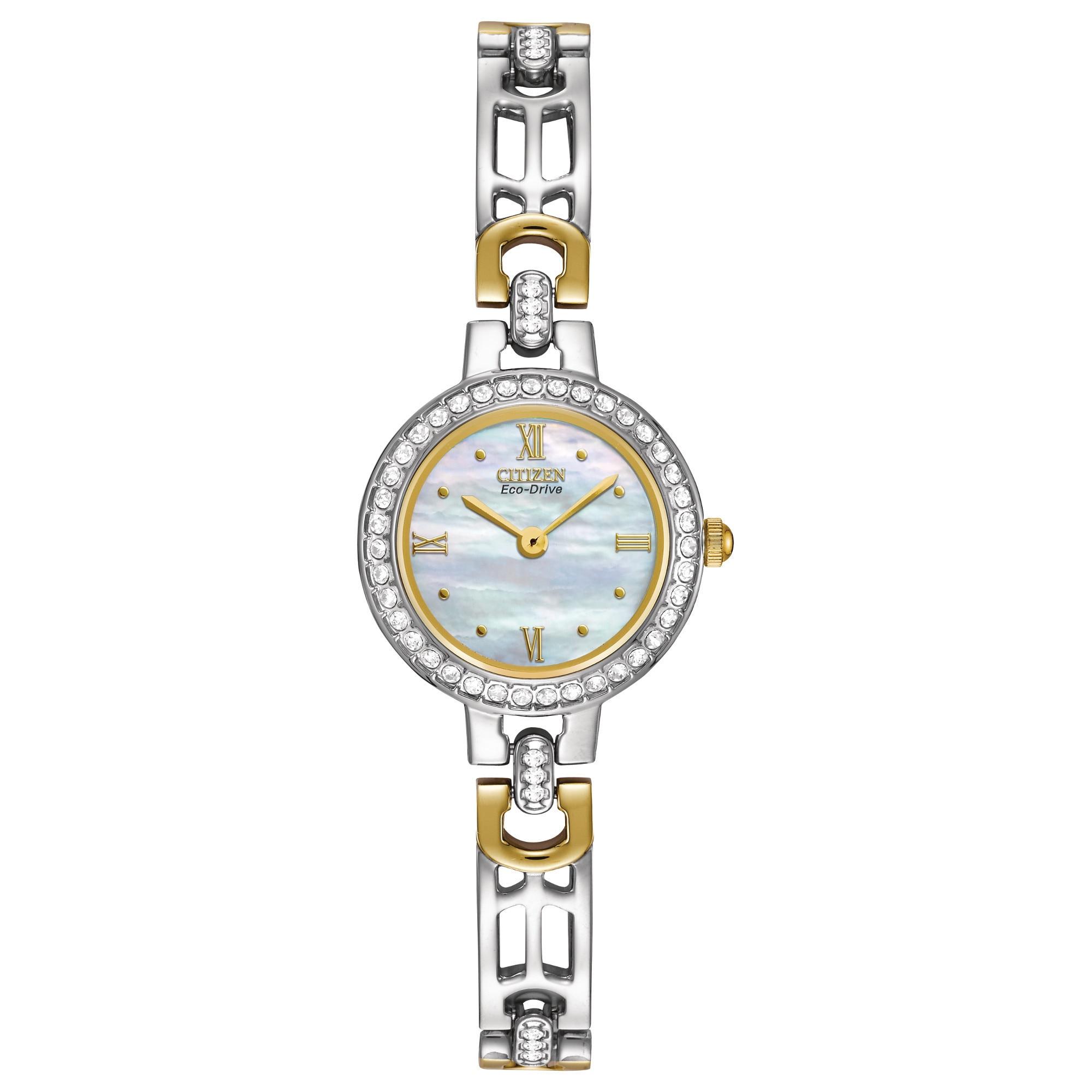 Citizen Women's EW8464-52D Eco-Drive Silhouette Watch (Th...