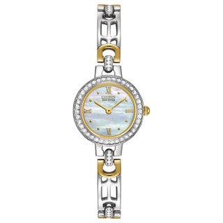 Citizen Eco-Drive Women's EW8464-52D Silhouette Watch