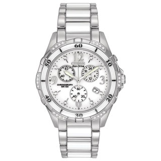 Citizen Women's FB1230-50A Eco-Drive Ceramic Watch