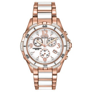 Citizen Eco-Drive Women's FB1233-51A Ceramic Watch