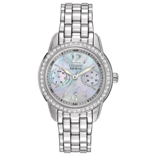 Citizen Eco-Drive Women's FD1030-56Y Silhouette Crystal Watch